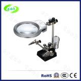 Lupa Desktop leve do diodo emissor de luz para a fábrica e o reparo (EGS16132-A)