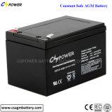 Безуходные батареи UPS свинцовокислотной батареи 12V 9ah Rehargeable