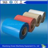 Bobina de acero prepintada de calidad superior de la bobina/PPGL de la bobina/PPGI del soldado enrollado en el ejército/hoja de acero galvanizada cubierta color en bobina