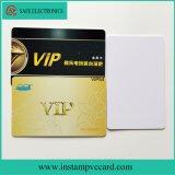 Cartão de secagem rápido do PVC do espaço em branco da impressão de tinta