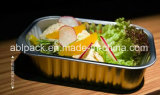 Microwavable ou recipientes coloridos da folha de alumínio da refeição para a restauração