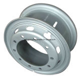 rueda de acero sin tubo 22.5X6.75 para TBR