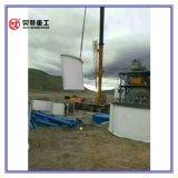 80 T/H het Groeperen van het Asfalt van de Kantoorbehoeften Intermitterende het Mengen zich Installatie met Vastgeboute Silo