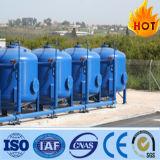 Filtro de arena de la presión del acero suave para el tratamiento de aguas de río