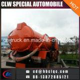 HOWO 8000L 10000L 12000L Abwasser-LKW-Tanker-Abwasserkanal-Beseitigungs-Becken-LKW