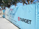 Знамя загородки сетки бортового водоустойчивого ветра дороги упорное рекламируя