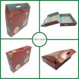 Beide Seiten-Drucken-Pappverschiffen-Kasten mit Griff