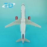 Airserbia A320 1/100 37.6cmエアバスのモデル平らな航空機