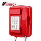 De op zwaar werk berekende Waterdichte phoneanti-Terrosist Telefoon van het Gebied, de Waterdichte Telefoon van de Telefoon Rubost IP66, knsp-18