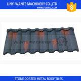 Mattonelle di tetto rivestite di pietra del metallo di Milano di nuovo disegno con il formato standard 1340X420mm