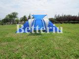 [سكبلو] خيمة [دووبل لر] خيمة كبيرة خيمة لأنّ أسرة يخيّم