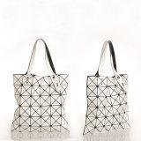Bolsa vertical Rhombic geométrica do laser de 14 sacos de ombro das cores (A040)
