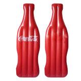 Kundenspezifische heiße Verkaufsförderungs-aufblasbare Flaschen-Form-Luftmatraze
