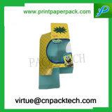 만화 주문 종이 PVC Windows를 가진 포장 접히는 향수 상자