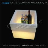 Envase plástico del cubo LED de Factry para el almacenaje de la cerveza
