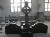 Черный гранитный памятник