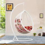 Cadeira de suspensão D017A do ovo do Rattan barato popular da cadeira do balanço do Rattan do preço