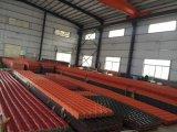 Испанская плитка крыши синтетической смолаы ASA типа