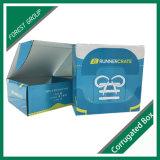 再生利用できるおあつらえの青い包装ボックスを受け入れなさい