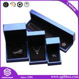 Rectángulo de joyería de empaquetado de papel del regalo del reloj de la visualización de la pulsera del collar
