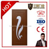 Binnenlands MDF Wooden pvc Door met Glass Diamond