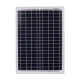 20W carga poli do painel solar 18V para a bateria 12