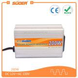 Inversores da relação 200W 12V do USB dos produtos 5V 1A do inversor da manufatura de Suoer (SDA-200A)