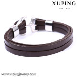 Armband-227 de nieuwste Armband van het Leer van de Juwelen van het Roestvrij staal van Xuping van de Manier