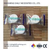 Ткани влажного Wipe 100% Biodegradable Nonwoven белые сложенные Skincare Compressed
