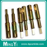 Präzisions-Feuerverzinnen-Hartmetall-Locher mit Schlüsselnut