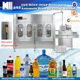 Produzione imbottigliante della macchina imballatrice dell'imbottigliamento di plastica liquido dell'acqua