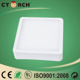 LEIDEN van het Ontwerp van Ctorch Nieuwe Licht Vierkant Comité Plastic 170-240V 6W
