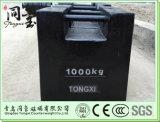 Pesi del ghisa del peso 1000kg da 500 chilogrammi, peso d'acciaio