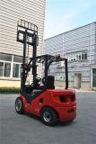 새로운 3 톤 디젤 엔진 포크리프트 일본 엔진 고도 돛대를 드는 3 미터