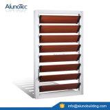 Sicheres Aluminiumschaufel-Luftschlitz-Blendenverschluss-Fenster