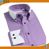 Camice italiane del progettista del collare del doppio del vestito dagli uomini convenzionali della camicia degli uomini