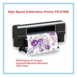 Con 4PCS Impresora de inyección de tinta de sublimación de formato grande Epson
