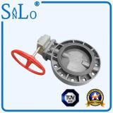 Ppv/PVC/UPVC Turbine-Drosselventil von China