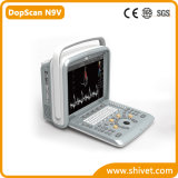 Varredor veterinário portátil do ultra-som de Doppler da cor (DopScan N9V)