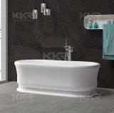 2014 بالجملة الحمام الصلبة السطح حجر الراتنج طليق البانيو