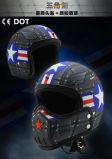 2017 neuer Entwurfs-halbe Gesichts-Motorrad-Sturzhelme mit vielen Arten-Teilen
