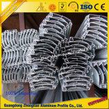 Perfil de aluminio del obturador del rodillo con la superficie anodizada de Champán