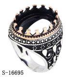 Fabriek Hotsale van de Ring van de Juwelen van het Koper van de namaakbijouterie de Zilveren