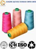 Diversas especificaciones al por mayor e hilo de coser del poliester colorido