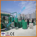 Sistema Waste usado preto da regeneração do petróleo de motor ao petróleo novo
