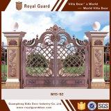 Diseños indios del tubo principal de la casa/puerta compuesta de la pared/puerta de diapositiva de aluminio