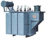 Un tipo a bagno d'olio trasformatore di 3 fasi di potere con poche perdite di tensione 33kv