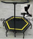 Mini trampolín estable hexagonal de los pies de la araña del tornillo 6 para la aptitud de salto de la carrocería