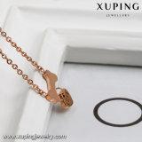 00246 Form-Inner-Entwurfs-Edelstahl-Schmucksache-Halskette mit dem Knochen