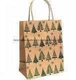 Bolsa de papel del bolso de compras del papel de Kraft/fabricante de la bolsa de papel del regalo